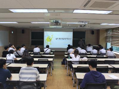 [2016.7.15] 청주 서원고 강연과 이매지너리 체험