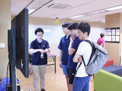 [2017.08.03] DGIST, 대전동방고등학교 이매지너리 체험